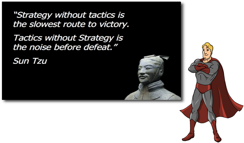 Strategy vs. Tactics